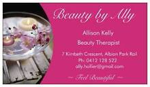 Beauty by Ally Albion Park Rail Shellharbour Area Preview