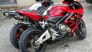 2005 honda cbr 600rr parting out