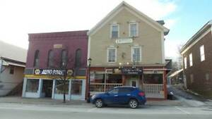 Large commercial building for sale including turn key restaurant