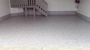 Polyaspartic Floor Coating Installation