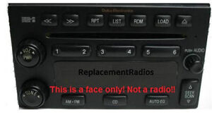 Santa-Fe-Sorento-CD6-CD-6-radio-FACE-Have-worn-buttons-Solve-it-with-this-part