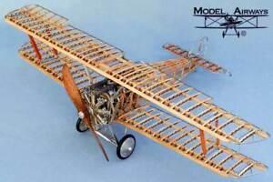 MODEL-AIRWAYS-SOPWITH-CAMEL-1-16-wood-kit-plane-NEW
