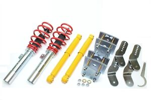 COILOVER VW CADDY MK3 COILOVER  ADJUSTABLE Front Rear SUSPENSION Lowering Kit