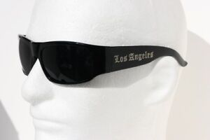 MEN-LOS-ANGELES-LA-SUNGLASSES-BLACK-CHOLO-BIKER-DARK