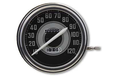 Harley Fat Bob Speedometer 2:1 Ratio 1962-67 Style Face
