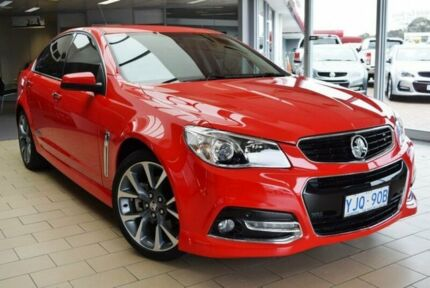 2013 Holden Commodore VF SS-V Red Hot 6 Speed Automatic Sedan