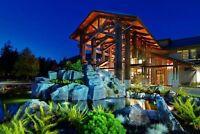 November 27 - December 4 Sunrise Ridge in Parksville suites