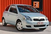 2004 Toyota Echo NCP10R MY03 Blue 5 Speed Manual Hatchback Molendinar Gold Coast City Preview