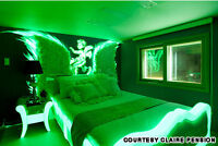 Ultra Green V10 Brightest Longest Lasting Glow Paint on Earth