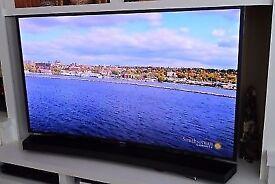 "Samsung 55"" Full 3D 2160p UHD (4K) LED Curved Smart TV (UN55JS9000)"