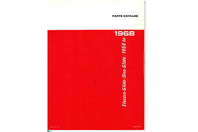 V-Twin 48-0313 - Spare Parts Book for Big Twin
