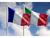 French and Italian lessons via Skype from £8.5