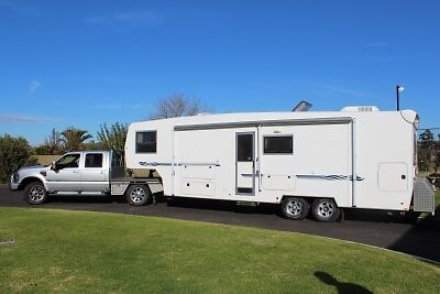 2007 Truelux custom 31' 5th-wheeler and + 2010 Ford F350 Kialla Shepparton City Preview