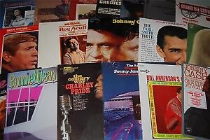 Classic Country LP Vinyl Record Album Collection Vintage