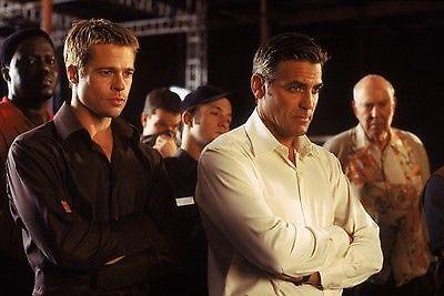 Brad Pitt und George Clooney in Ocean's 11