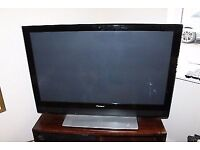 42 inch hitachi plasma tv television. no discount.can bring to you for petrol if you cant come