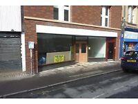 Shop unit for rent £15,000 PA DERBY CITY CENTRE