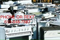 FREE APPLIANCES AND SCRAP METALS PICKUP 613-848-7587