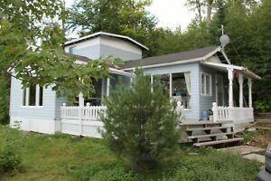 TWO LAKEFRONT COTTAGES ON ONE LOT - LOWER ISLAND LAKE