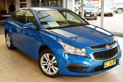 2015 Holden Cruze JH MY15 Equipe Perfect Blue 6 Speed Automatic Sedan