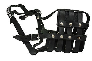 Leather Muzzle - Brand New with Tags