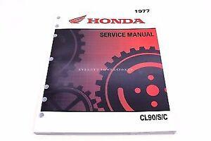 New Service Manual CT90 TRAIL 90 C90 CL90 S90 OEM Honda Shop Repair Book   #L28