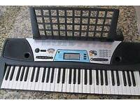 Yamaha PSR-170 with music stand. With midi to usb cable. Need to sell fast to make space.