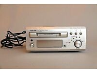 denon matching minidisc player/ recorder and tape deck. retro great looking.