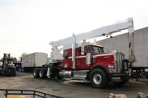 2009 Kenworth W900BO Crane Truck with Bunk - Unit #4376