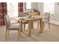 UNOPENED (flat packed) Next Stanton 4-6 Seater Dining Table