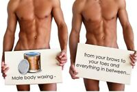 Waxing services for Men by a women( Downtown)