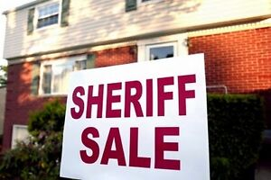 Sheriffs sales of lands Thornhill, Ontario Canada
