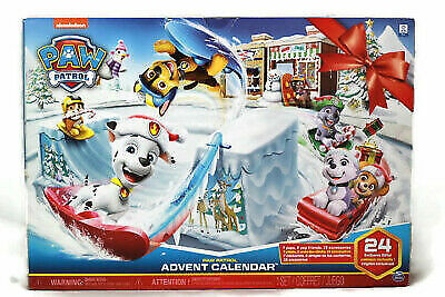 NEW Nickelodeon Paw Patrol Advent Calendar, Unopened | IN HAND | FREE SHIPPING