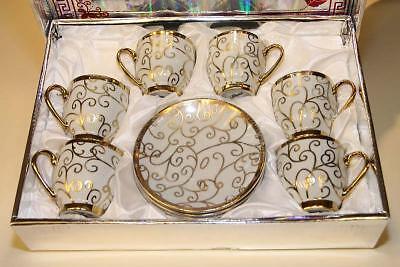 12-tlg.Mocca Set - Turkisch Moccaset  Kaffee-Set i.Geschenkbox MOCCA-ESPRESSO