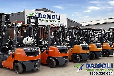 Massive Forklift Clearance Sale- Everything Must Go!