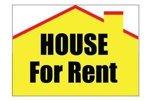 *HOUSE FOR RENT*