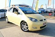 2004 Mitsubishi Colt RG XLS Yellow 1 Speed Constant Variable Hatchback Woodridge Logan Area Preview