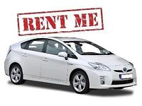Toyota Prius for rent from £110