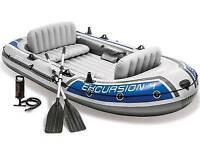 Blow up boat