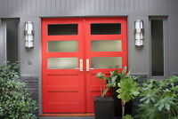 Door installation interior, exterior, fire rated 289-216-1151