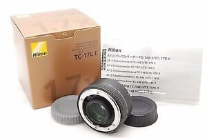 like new nikon AF S teleconverter TC 17E II 1.7x  in box