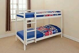 Bunk bed and mattress