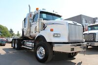 ALBERTA OILFIELD SPEC 2007 Western Star 4900 Winch Truck - #4453