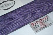 Purple Tweed Fabric