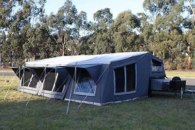 Camper trailer with HUGE 23x18ft near new tent Mount Barker Mount Barker Area Preview