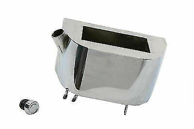 Chrome Oil Tank for Harley Davidson by V-Twin