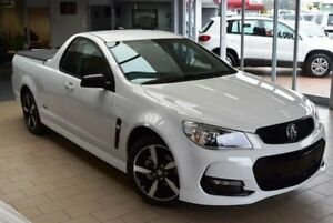2016 Holden Ute Vfii MY16 SV6 Black Edition Heron White 6 Speed Automatic Utility Belconnen Belconnen Area Preview