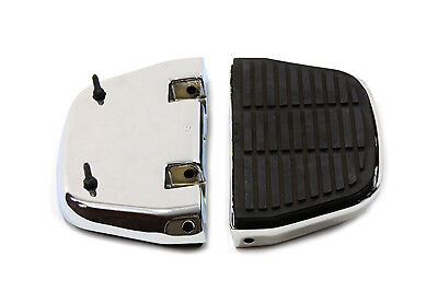 Harley touring dyna softail passenger footboard floorboard cover covers inserts