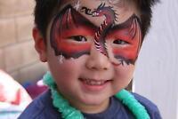 Professional Face Painter and Balloon artist GTA