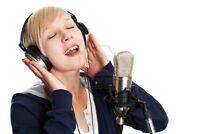 Host your own karaoke party at a pro recording studio!